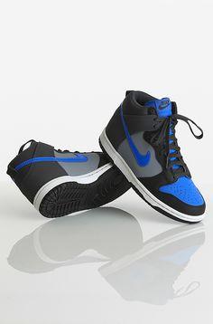 Nike Dunk High GS kengät Anthracite/Deep Night-Black-Varsity 59,90 € www.dropinmarket.com