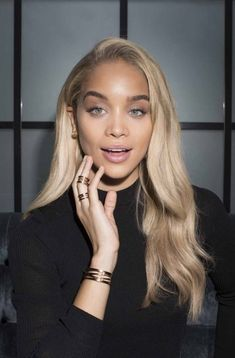 Jasmine Sanders Jasmine Sanders Light Skin Girls Golden Barbie