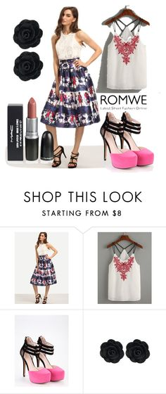 """""""10/7 romwe"""" by fatimka-becirovic ❤ liked on Polyvore featuring vintage"""
