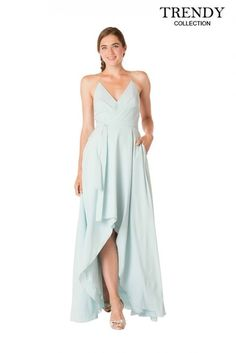Bari Jay 1704 Long V-neck Bridesmaid Dress 4c2c7379f