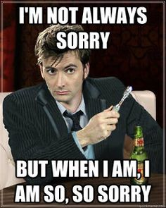 David Tennant, my love.