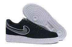 44dea0ced93 Economics Nike Air Force 1 Low 07 LV8 Black Cool Grey White 823511 014  Womens Mens