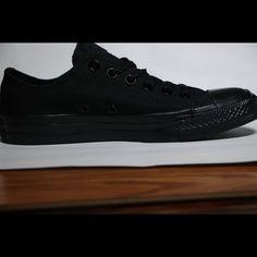 362429d81b Converse Shoes | Converse Classic Black All Star Low Top | Color: Black |  Size