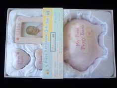 New Baby Keepsake 5pcs Gift Set Tooth and by YourScrapbookingShop, $19.95