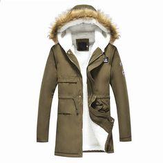 1a1899d5a7779 GODLIKE Kışlık erkek yastıklı ceket, gençlik eğlence giyim Güney Kore  kapüşonlu kalın pamuklu giysiler,