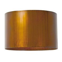 "#METAL #LAMPSHADE 16"" Metal Drum Lampshade - Pewter, Black or Gold"