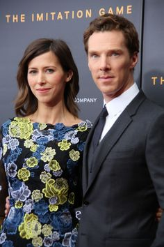 Benedict Cumberbatch and Sophie Hunter at the premiere of The ...