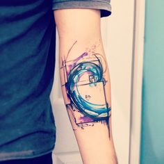 Colorful Fibonacci tat