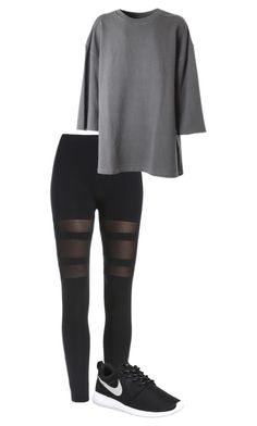 """""""Dance Look - Inspiration Dana Alexa"""" by marinarodrigues-2 ❤ liked on Polyvore featuring NIKE, adidas Originals and inspiration"""