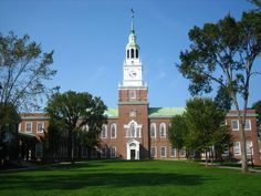 December 13, 1769 Dartmouth College in New Hampshire received its charter.