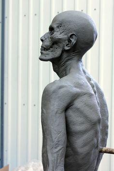 Dark Shadows/ Vampire Victim by Bastlbasti - Bastlbasti - CGHUB Creature Feature, Creature Design, Anatomy Reference, Art Reference, Zombie Pics, Crane, Anatomy Sculpture, Zbrush Character, Traditional Sculptures