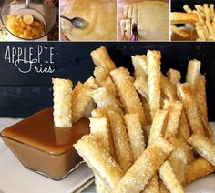 DIY Delicious Apple Pie Fries - Find Fun Art Projects to Do at Home and Arts and Crafts Ideas