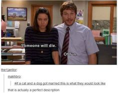 When they realised what was actually happening in Parks and Rec. | 36 Times Tumblr Proved It Was The Funniest Place On The Internet
