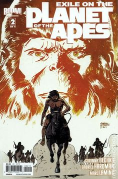 Exile on the Planet of the Apes (2012 Boom) 2A Comic book covers