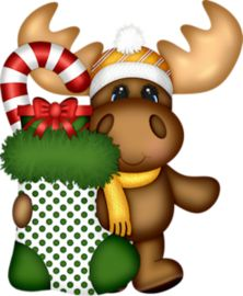 ideas painting wood ornaments deer for 2019 Christmas Moose, Christmas Animals, Christmas Pictures, Winter Christmas, Christmas Ornaments, Christmas Decorations, Christmas Cartoons, Christmas Clipart, Christmas Printables