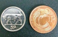 1994 WORLD COINS IRELAND 5 PENCE + 1 PENCE IRISH HARP COINS   Coins & Paper Money, Coins: World, Europe   eBay!