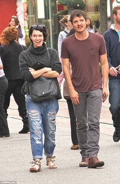 Just friends? Game Of Thrones stars Lena Headey and Pedro Pascal were spotted on a shopping trip together at The Grove in Hollywood on Wednesday