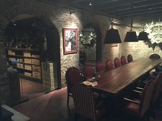 6000 bottle wine cellar for a high-end restaurant in New Orleans.