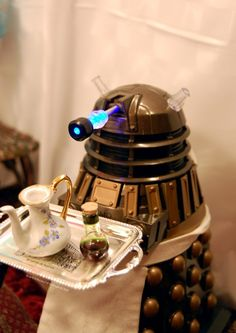 WOULD YOU CARE FOR SOME TEEEEEEEEA? [you read that in a daleks voice]