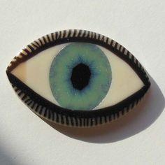 EyeGloArts Eyeballs Glow in the dark blue Eye от EyeGloArts