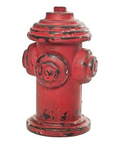 Take a look at this Decorative Fire Hydrant on zulily today!