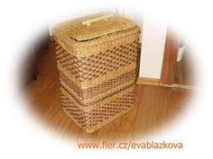 flér Laundry Basket, Kos, Wicker, Organization, Home Decor, Getting Organized, Organisation, Decoration Home, Room Decor