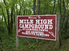 Mile High Campground Near Cherokee Nc Its Quot Extremely