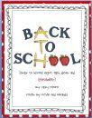 Back to School Night Ideas/Printables * FREEBIE*