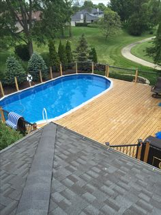 Shallow End For Above Ground Pool Outdoor Diy Swimming