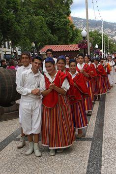 Traditional costumes Madeira, Portugal              ...www.flickr.com
