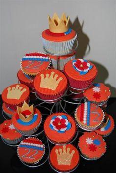 Cupcakes voor Koninginnedag van Cupcake Lien