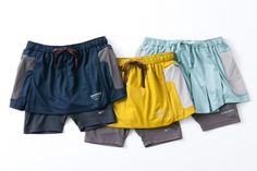 Nike X Undercover Gyakusou running skort! I want that yellow one REAL BAD! Female Runner, Running Wear, Japanese Outfits, Clothing Labels, Undercover, Men's Collection, Nike Sportswear, Blond, Gym Shorts Womens