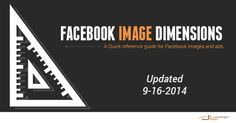 All Facebook Image Dimensions: Timeline, Posts, Ads [Infographic] - Jon Loomer Digital