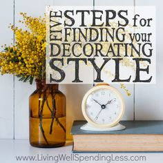 5 Steps for Finding Your Decorating Style