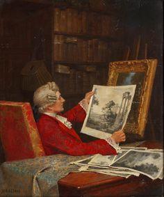 John Arthur Lomax (1857 - 1923) - A Rare Print