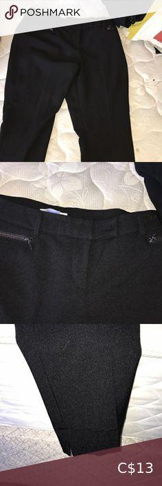Pants Comfortable stylish worn once!! 10/10 condition cleo Pants & Jumpsuits Red Dress Pants, Plaid Pants, Pull On Pants, Work Pants, Size 12 Women, Black Capris, Grey Trousers, Petite Pants, Summer Pants