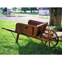 Antique Victorian Costermongers Barrow Market Garden Cart