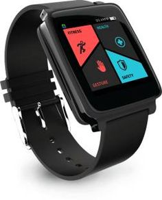 Hug Gesture Control Midnight Black Smartwatch Follow us on www.dealkaamaal.com http://fkrt.it/UT1x3TuuuN