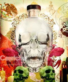Crystal Head Vodka - Entry 2  Based on the mythology of the Crystal Skull