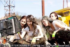 150522 Japan Sone Plus Catch me if you can MV SNSD Seohyun Yoona Hyoyeon Sunny