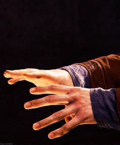 Merlin. Those hands *_* <---- Who wrote this? I need to know what you meant by it XD