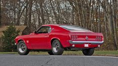 1969 Ford Mustang Boss 429 in Candy Apple Red - KK 1726