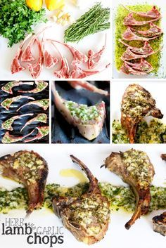 Incredibly bright and fresh garlic and herb lamb chop pops! Lamb chops are covered in a fresh herb and garlic marinade with a kick of lemon, then broiled. Start to finish in 20 minutes!