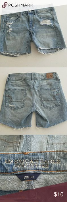 American Eagle Denim Shorts 2 Distressed denim shorts. American Eagle Outfitters Jeans