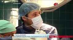 Hospital de Rivera incorpora equipo para tratamiento de calculos.