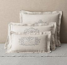 Wentworth crest vintage washed belgian linen duvet cover guest wentworth crest vintage washed belgian linen duvet cover guest bedroom ideas pinterest linen duvet duvet and linens publicscrutiny Image collections