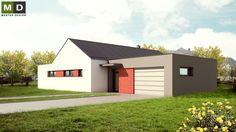 Výsledek obrázku pro bungalov s garáží
