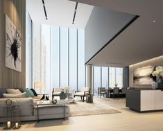 SCDA New East 59th Street Condo Tower Reveals Interior Rendering
