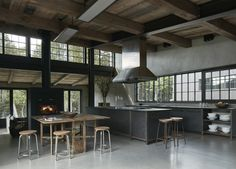Kitchen at MG2 House, Quebec | Alain Carle Architects | est living