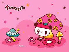 Pandapple Sanrio - A panda who wears an apple hat.